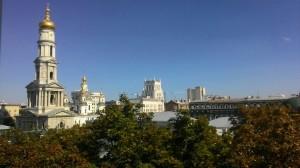Вид из окна любимой академии
